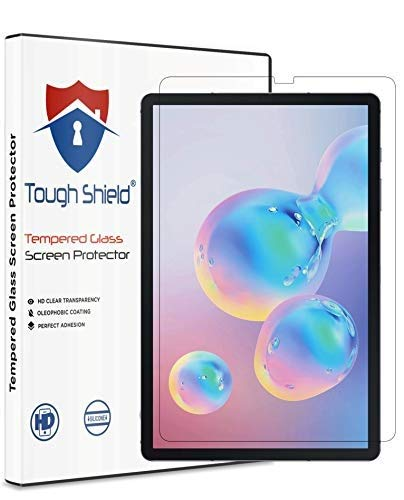 TOUGH SHIELD® 0.3 mm 9H Flexible Gorilla Guard Tempered Glass Screen Protector Shield for Samsung Galaxy Tab S6 10.5 (2019) (SM-T860/T865) (Pack of 1)
