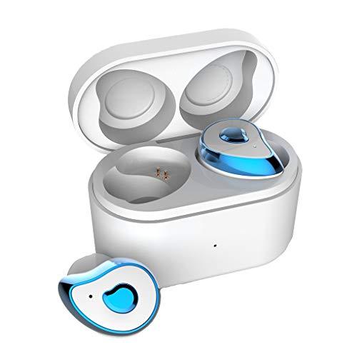 Floridivy Bluetooth 5.0 koptelefoon hoofdtelefoon telefoon Bluetooth oortelefoon, In-ear draadloze Call Wireless In-ear Sport Zakelijke Headset IPX4 Waterdicht Oordopjes