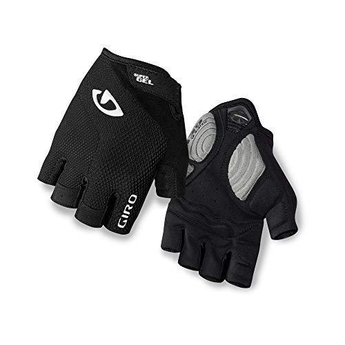 Giro Strada Massa Gel Bike Glove Nero Taglia S 2018 Guanti bici a dita intere