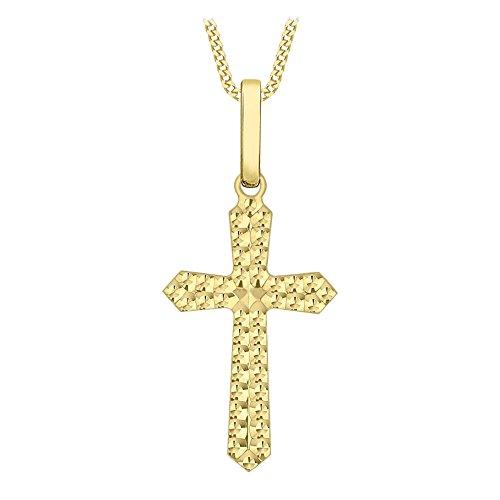 Carissima Gold Collana con Pendente da Donna in Oro Giallo 9K, 45.72 cm