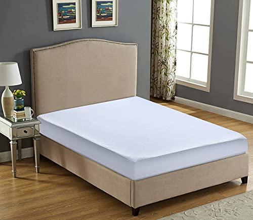 Wasserdichte Matratze, Nassschutz, Doppelbettgröße, extra tief, Spannbetttuch, geräuscharm, bequemer Schlaf, Matratzenbezug