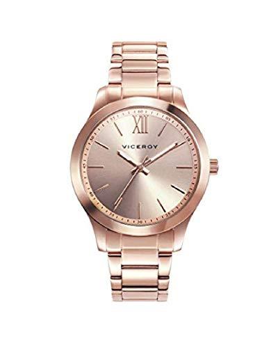 Viceroy 401068-93 - Reloj para Mujer Acero IP Oro Rosa