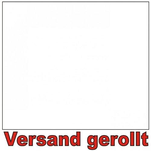 Klebefolie Weiß 210x90cm Dekofolie Selbstklebefolie Möbelfolie