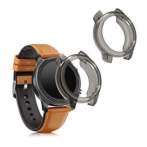 kwmobile Case Protettiva per Fitness Tracker Compatibile con Huami Amazfit GTR (42mm) - Semitrasparente Protezione Sportiva Cardio Orologio Smart