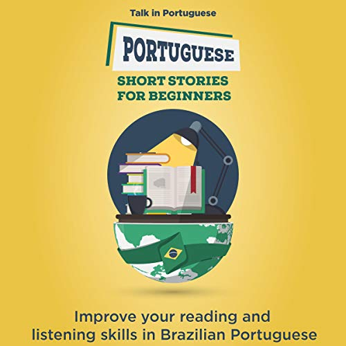 Portuguese Short Stories for Beginners  By  cover art
