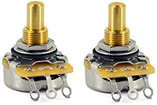 Best CTS 500K Pot Short (3/8 inch) Solid Shaft Audio Taper - 10% Tolerance - Pair (2X) Review