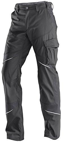 KÜBLER ACTIVIQ Arbeitshose Low (ohne Knieschutzpolstertaschen), einfarbig, grau, Größe 114