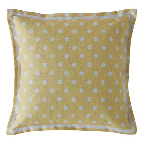 Cath Kidston - Juego de 2 cojines de 40 cm, diseño de lunares, color amarillo