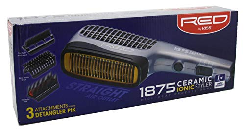 Kiss Red Styler 1875 Ceramic Ionic