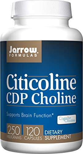JARROW JA Citicoline CDP Choline, 250 mg, 120 kapsulen