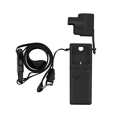 HSKB siliconen hoes voor XIAOMI FIMI Palm Gimbal camera accessoires case cover beschermhoes skin met draaggreep antislip beschermhoes beschermende shell antislip accessoires