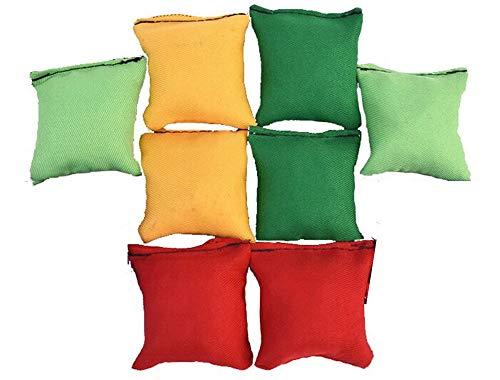 Rmeet Bolas de Malabarismo,8 Pack Mini Bolas para Malabares Bolas de Malabares Suaves de la PU para Principiantes Niños Adultos Multicolor