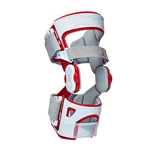 Disk Dr. SP1600 Knee Support Brace for Rehabilitation, Arthritis, Ligament Support, Sprains, Red (Large)