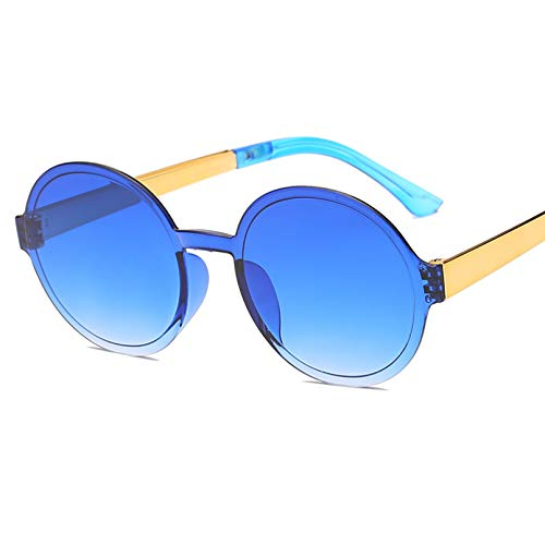 MEAOR Gafas sin Montura Mujer Hombre Gafas de Sol Gafas de Sol de Gran tamaño Sombras Moda Vintage