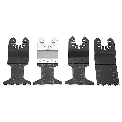 24-teilige Klingen für oszillierende Sägen, Holz/Metall und Kunststoff Multitool-Schnellwechselklingen für Dewalt-Handwerker Ridgid Milwaukee Rockwell Ryobi und mehr