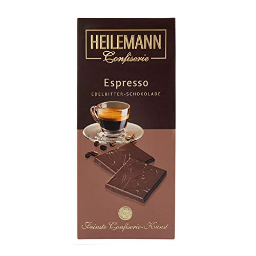 Heilemann Confiserie Espresso Edelbitter-Schokolade, 80g