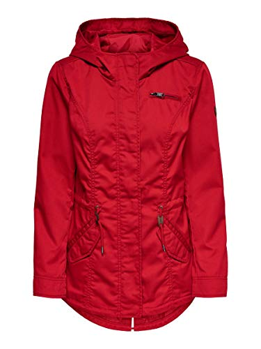 ONLY Damen Parka Übergangs XSMars Red
