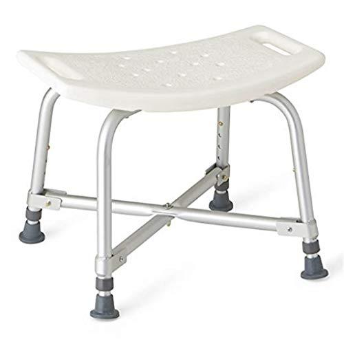MMHJJ-Bath chair Badhocker Heavy Duty Duschstuhl Badbank Badesessel UnterstüTzt Bis Zu 500 Kg FüR äLtere Menschen Behinderte Frauen Handicap Senioren