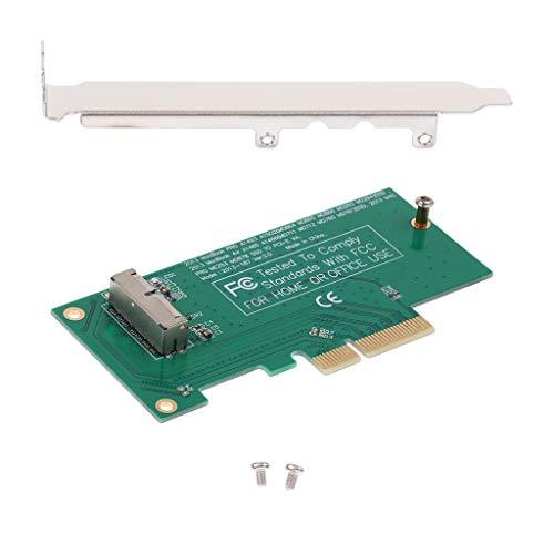 MagiDeal Tarjeta Adaptadora a PCI-E 4X para 2013 2014 MacBook SSD