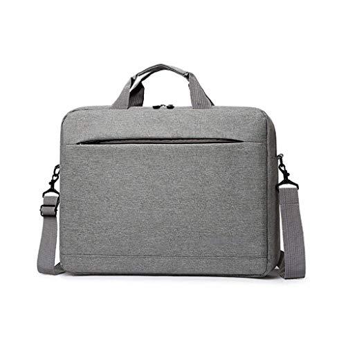 XYZMDJ reizen grijs Business Document Notebook tas geschikt voor schok- Computer schoudertas voor werk