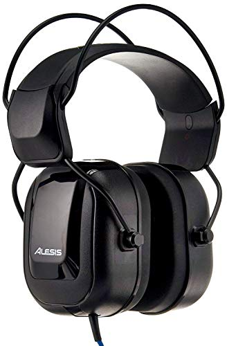 2. Alesis DRP100 | Isolation Electronic Drum Reference Headphones