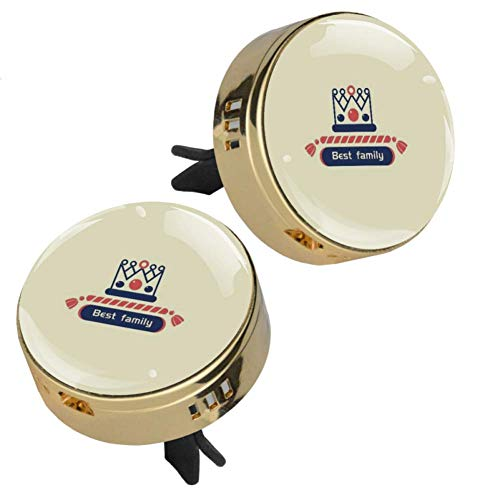 Crown Best Family Car Perfume Car Air Freshener Vent Clip Fragrance Car Smell Airfreshener Perfume Diffuser
