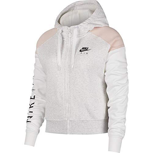 Nike W NSW AIR Hoodie FZ BB, schwarz(Black), Gr. XXL