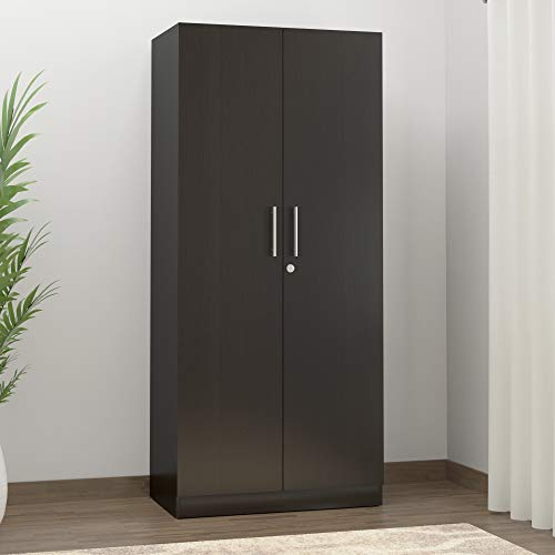 Spacewood Optima 2-Door Wardrobe (Natural Wenge)