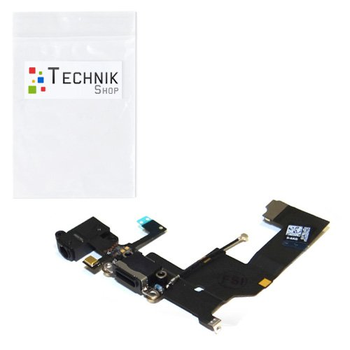 TechnikShop Dock Connector kompatibel mit iPhone 5 Lightning USB Ladebuchse