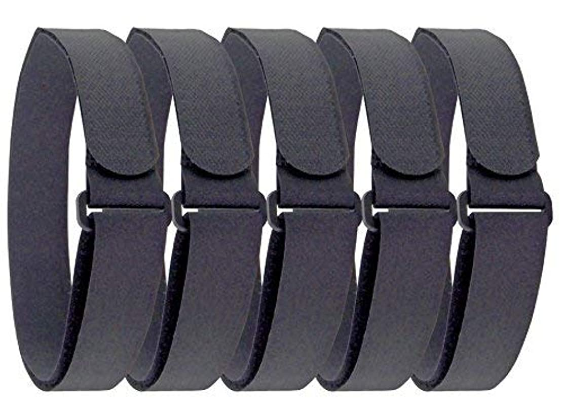 Furupa 物固定ベルト 伸びない固定バンド 5本組 5cm×100cm バイク 車 アウトドア 布団 災害対策