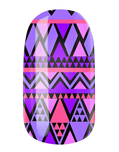 VENGANAILS Nagelfolie - Martha, High Performance Nail Wraps, zelfklevend, geen import uit China, MADE IN GERMANY