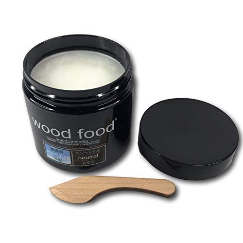 """Wood Food"" 天然艶出し蜜蝋ワックス (ニュートラル, 180ml)"