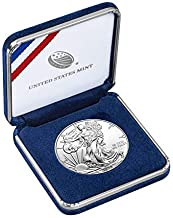 1997 American Eagle with Presentation Box One Ounce Silver Bullion Dollar Gem Uncirculated