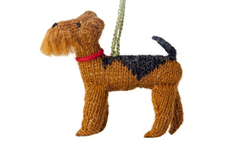 ARCADIA HOME Airedale Ornament