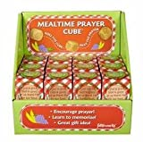CB Gift 73658 Prayer Cube-Mealtime Prayer Cubes with Display & Gift Box