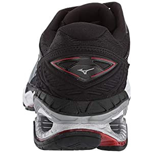 Mizuno Men's Wave Creation 20 Running Shoe, Trade Winds-Black, 11 D US