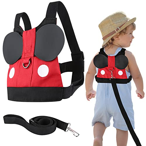 Flashbluer Anti Lost Safety Harness with Safety Leash Cute Design