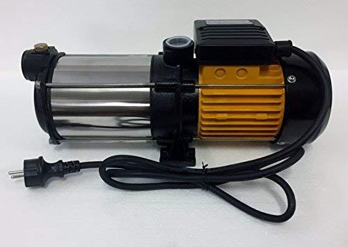 Mehrstufige Kreiselpumpe megafixx HMC5SA 1100 Watt 5,4 BAR 5 Edelstahl Laufräder