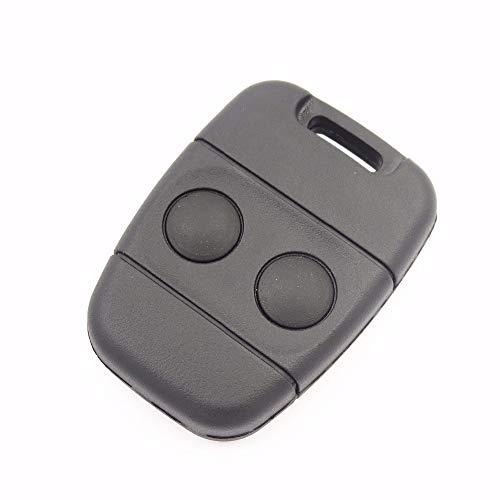 Automobile Locksmith - Carcasa para Mando a Distancia de 2 Botones para Llave Rover MG Land Rover Defender Freelander