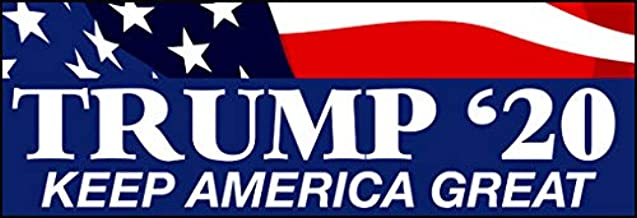 Trump '20 Keep America Great Bumper Sticker (Donald GOP 2020 Decal KAG MAGA)
