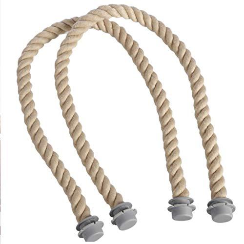 KoelrMsd Mini asa de Cuerda clásica con Inserto de Lona, Banda Impermeable para Bolsa para Bolso Obag, Accesorios para Bolsos Femeninos