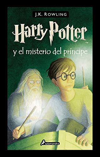 Libro Harry Potter 6 Años  marca Salamandra Infantil y juvenil
