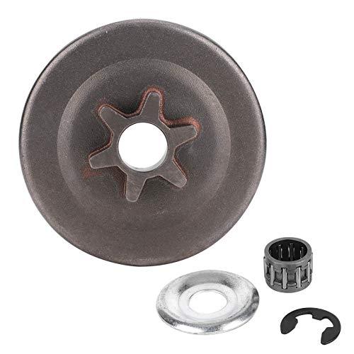 3/8 6T Kit de arandela de piñón de tambor de embrague E-Clip para S-tihl MS171 MS181 MS211 Motosierra eléctrica MS170 MS180 MS210 MS230 MS250 017018021023025 1123640 2003