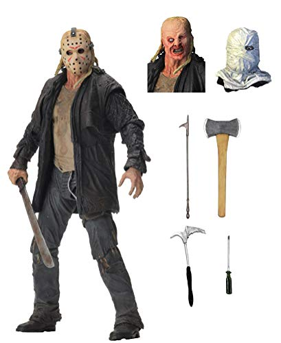 NECA Friday The 13th Ultimate Jason Voorhees 2009 7' Scale Action Figure