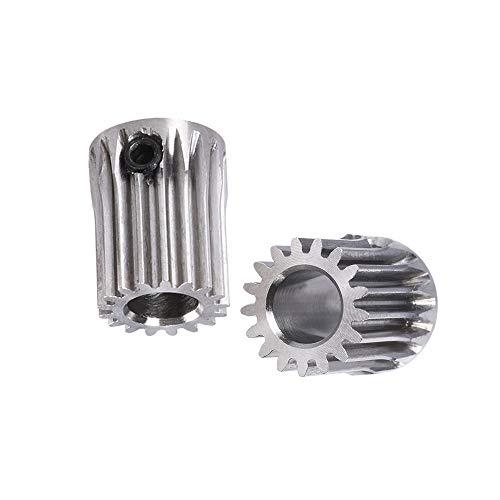 Manmanyu BMG ingranaggi estrusore betch Pignone estrusione 17Teeth foro da 5 mm di aggiornamento puleggia for stampante Titan motoriduttore 3D parti in acciaio inossidabile .Accessori per stampante