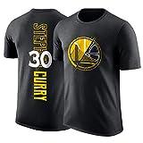 NBA Camiseta Los Aficionados De Los Hombres Respirables Jersey Atletismo Verano ¡para Jóvenes S-XXXL Golden State Warriors Stephen Curry-M