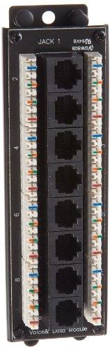 Morris Products 87114 8 Port Cat5e Voice/Data Module