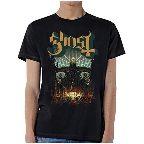 Ill Rock Merch Ghost Meliora T-Shirt Camisetas y Tops(Medium)