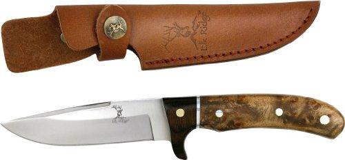 ELK RIDGE Erwachsene ER-065 Messer, Wurzel-Holz-Griff, M