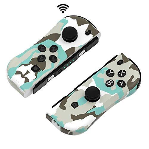 Wireless Joy con Controller für Nintendo Switch, ANTCOOL 2er-Set Links Rechts Kabelloser Bluetooth Gamepad Joystick Controller Kompatibel mit Switch